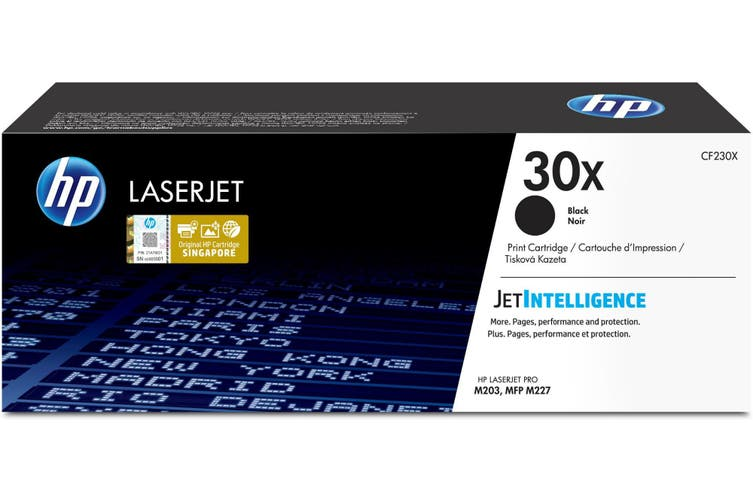 New HP 30X Black LaserJet Printer Toner Cartridge
