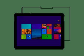 Microsoft Incipio Tempered Glass Screen Protector for Surface Go