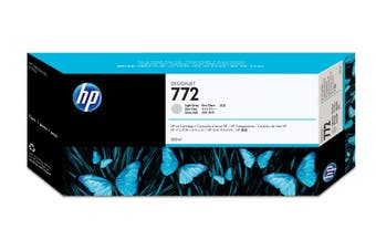 New Genuine HP 772 300-ml Light Gray DesignJet Ink Cartridge