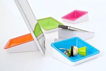 Bluelounge Nest E-book reader,Mobile phone/Smartphone,Tablet/UMPC Blue,White