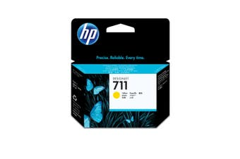 New Genuine HP 711 29ml Yellow DesignJet Ink Cartridge