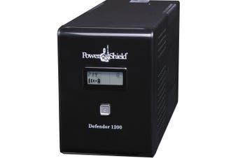 Power Shield Defender 1200VA / 720W Line Interactive UPS with AVR, Australian