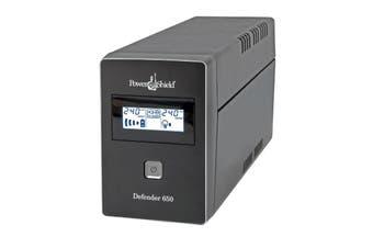 Power Shield Defender 650VA / 390W Line Interactive UPS with AVR, Australian