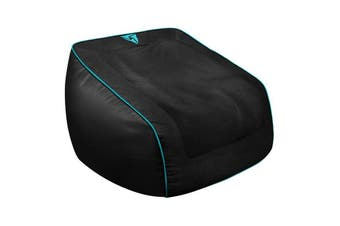 ThunderX3 Aerocool ThunderX3 DB5 Consoles Bean Bag - Black/Cyan Brown Box (bean
