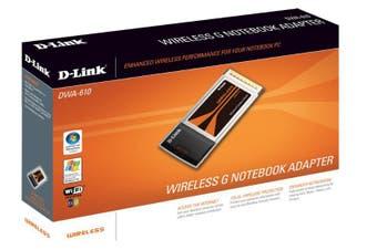 D-Link Wireless G Notebook Adapter 54 Mbit/s