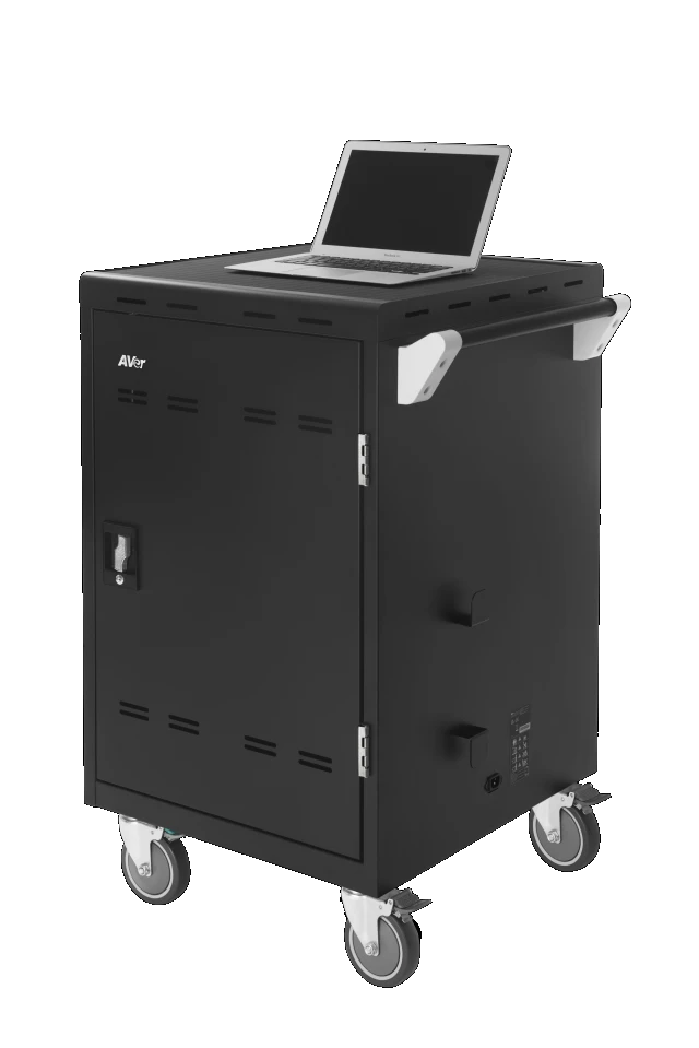 AVerMedia 25Kg+ Freight Rate- 24 bays, tablets, laptops & Chromebooks Charge Cart AVerMedia 25Kg+ Freight Rate- 24 bays, tablets, laptops & Chromebooks Charge Cart