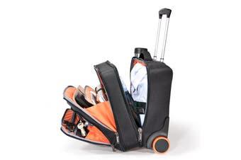"Everki EKB440 notebook case 40.6 cm (16"") Trolley case Black,Orange"