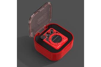 Divoom Espresso Bluetooth Speaker  Red / Black  Espresso Bluetooth Speaker - Red