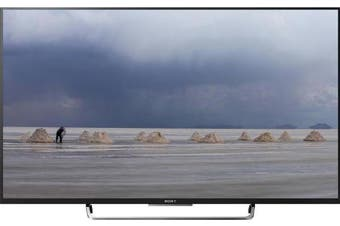 """SONY Bravia 50"""" Full HD (1920 x 1080), Direct LED, HDR, Linux, 17/7hrs,"""