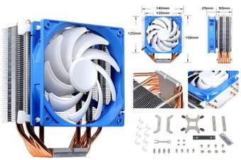 SilverStone AR03 12CM PWM 6 Heatpipe CPU Cooler, Compatible 2011, 2066, 1150,