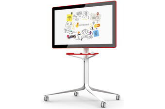 "BENQ 25Kg+ Freight Rate-RED 55"" 4K GOOGLE JAMBOARD,WIDE ANGLE Cam,WIFI,SPK,2x"