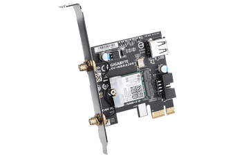 Gigabyte GC-WBAX200 WiFi 6 PCIe Adapter 2400Mbps 160MHz Dual Band Wireless +