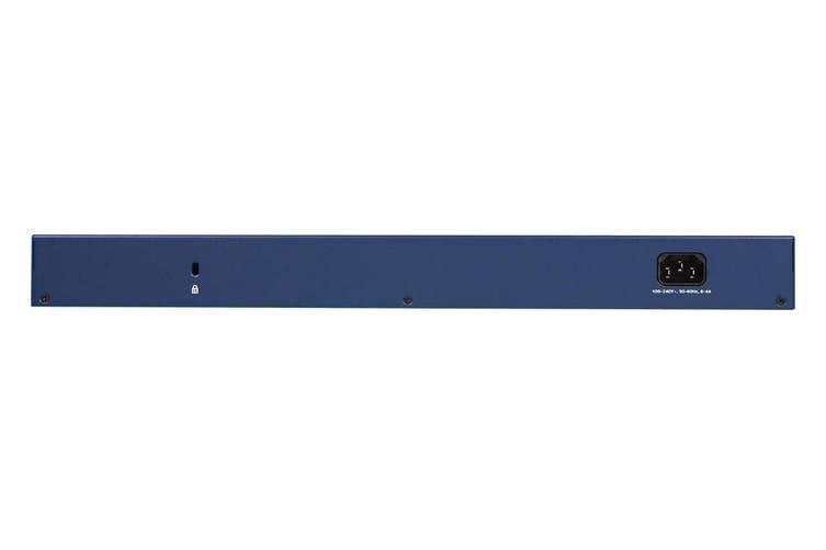NETGEAR 24-port High Powered PoE+ Gigabit Smart Managed Pro Switch with 2 x SFP