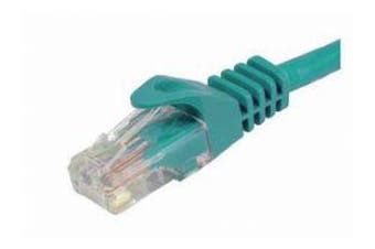 Cabac Hypertec 5m CAT6 RJ45 LAN Ethernet Network Green Patch Lead