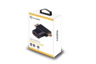 ALOGIC Micro & Mini HDMI (M) to HDMI (F) Adapter  - MOQ:4