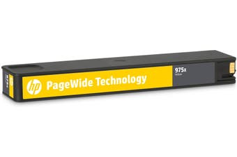 New HP 975X Yellow Original PageWide Cartridge