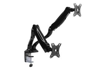 Brateck Dual Monitor Interactive Counterbalance LCD VESA Desk Clamp and Grommet
