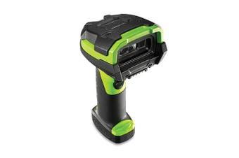Zebra LI3608 Handheld bar code reader 1D Black,Green