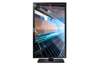 "Samsung LS24E65KBWV/XY LED display 61 cm (24"") WUXGA Flat Black"