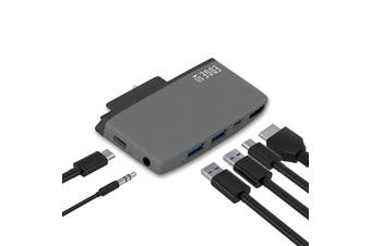 mBeat ®  Edge Go Multifunction USB- C Hub for Microsoft Surface Go (USB 3.0 Data