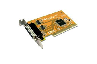 Sunix MIO5079AL PCI 2-Port Serial RS-232 and 1-Port Parallel IEEE1284 Card - Low