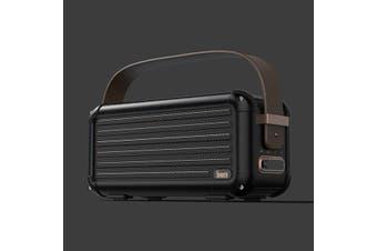 Divoom Mocha Bluetooth Speaker  Black  Mocha Bluetooth Speaker - Black