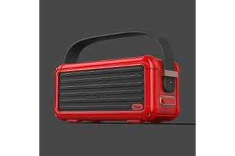Divoom Mocha Bluetooth Speaker  Red  Mocha Bluetooth Speaker - Red