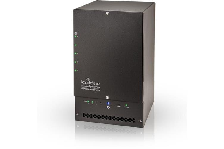 ioSafe 1515+ Ethernet LAN Wi-Fi Mini Tower Black NAS