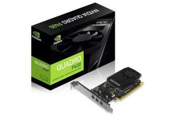 LEADTEK nVidia Quadro P400 PCIe Professional Graphic Card 2GB DDR5 3xmDP1.4