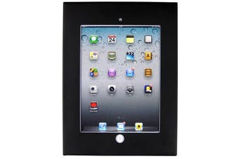 Brateck Wall Mount Anti-Theft Secure Enclosure for 9.7'  iPad/iPad Air -Black