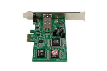 StarTech.com PCI Express Gigabit Ethernet Fiber Network Card w/ Open SFP - PCIe