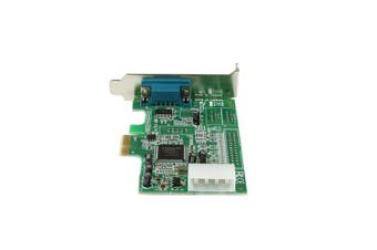 StarTech.com 1 Port Low Profile Native RS232 PCI Express Serial Card with 16550