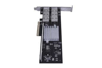 StarTech.com Dual-Port QSFP+ Server NIC Card - PCI Express - Intel Chip