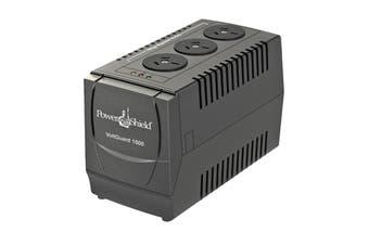 Power Shield VoltGuard 1500VA / 750W AVR - 750 Watt Voltage Stabliser. No