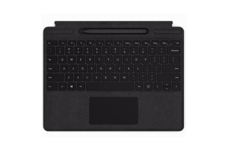 Microsoft Surface Pro X Signature Keyboard with Slim Pen Bundle - Black