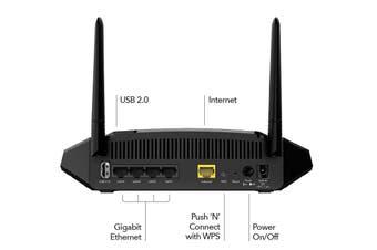 NETGEAR AC1600 Smart WiFi Router - Dual Band Gigabit