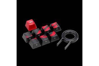 ASUS AC02 ROG GAMING KEYCAP SET  Premium Textured Side-Lit Design for FPS/MOBA