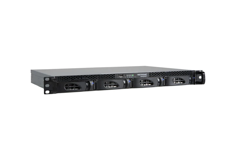 NETGEAR ReadyNAS RR2304 1U Rackmount Network Storage, 4-bay Diskless NETGEAR ReadyNAS RR2304 1U Rackmount Network Storage, 4-bay Diskless