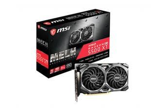 MSI RX 5500 XT MECH 4G OC graphics card Radeon RX 5500 XT 4 GB GDDR6