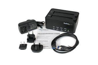 StarTech.com USB 3.0 SATA Hard Drive Duplicator & Eraser Dock - Standalone