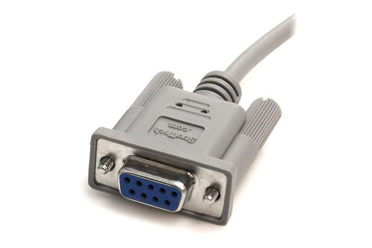 Dick Smith | StarTech.com 10 ft DB9 RS232 Serial Null Modem Cable F/F serial  cable | Other Computer Cables