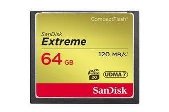 Sandisk CF Extreme 64GB memory card CompactFlash