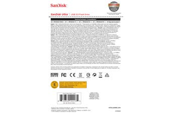 Sandisk Ultra USB flash drive 16 GB USB Type-A 3.2 Gen 1 (3.1 Gen 1) Black