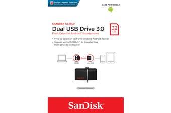 Sandisk Ultra Dual USB Drive 3.0 USB flash drive 32 GB USB Type-A / Micro-USB