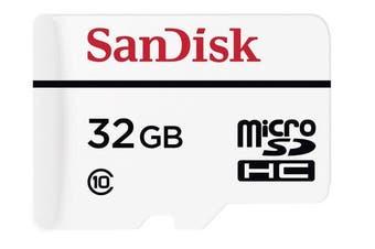 Sandisk 32GB microSDHC memory card Class 10