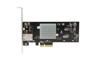 StarTech.com 1-Port 10G Ethernet Network Card - PCI Express - Intel X550-AT Chip