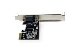 StarTech.com 1 Port PCI Express PCIe Gigabit Network Server Adapter NIC Card -