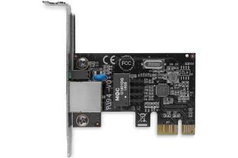 StarTech.com 1 Port PCI Express PCIe Gigabit NIC Server Adapter Network Card -
