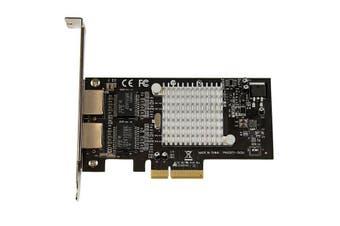 StarTech.com Dual Port PCI Express (PCIe x4) Gigabit Ethernet Server Adapter