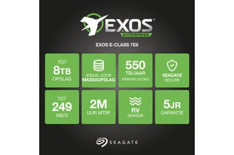 "Seagate Enterprise ST8000NM0055 internal hard drive 3.5"" 8000 GB Serial ATA III"